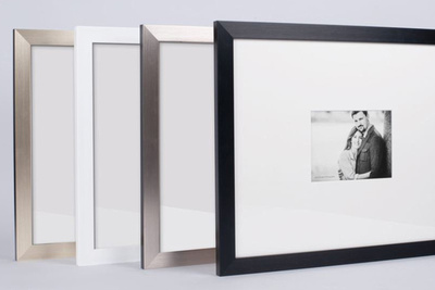 Framed Signing Board - Choice of 4 colours